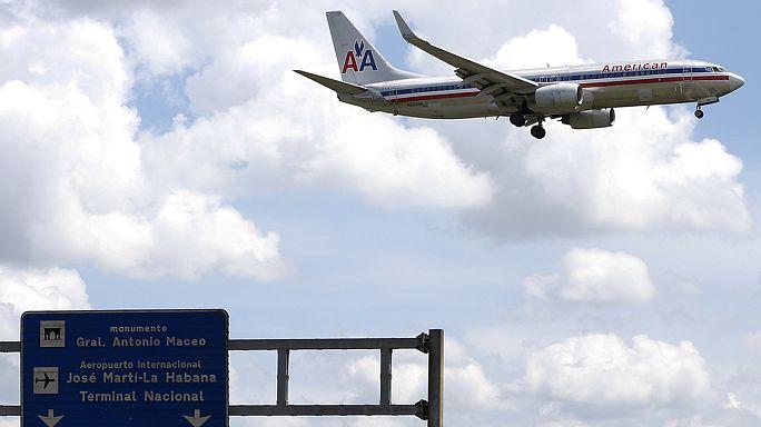 الولايات المتحدة توافق على إطلاق رحلات منتظمة من وإلى كوبا