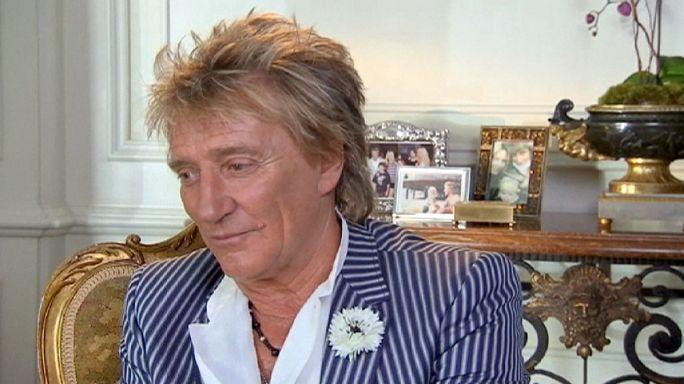 """London: Rod Stewart wird """"Sir"""""""