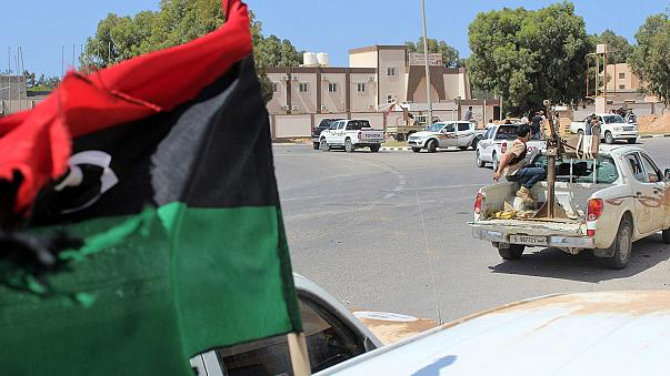 Libyan forces claim port in Islamic State militant stronghold of Sirte