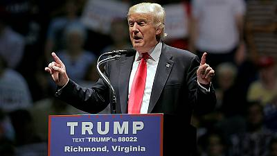 Trump's mixed messages after tough week campaigning