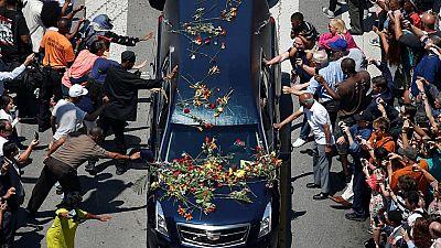 Muhammad Ali eulogized by American luminaries