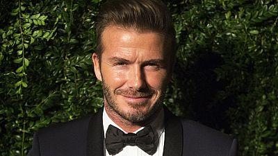 UNICEF Goodwill Ambassador David Beckham visits Swaziland