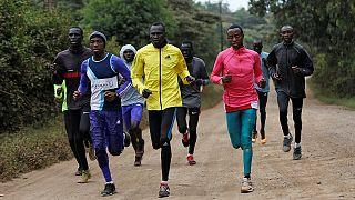 Kenya : les athlètes réfugiés du Soudan du Sud s'entraînent pour les JO 2016