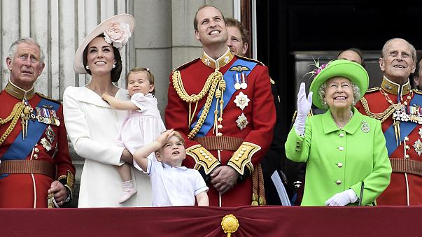 Queen Elizabeth celebrates 90th birthday with Trooping the Colour parade