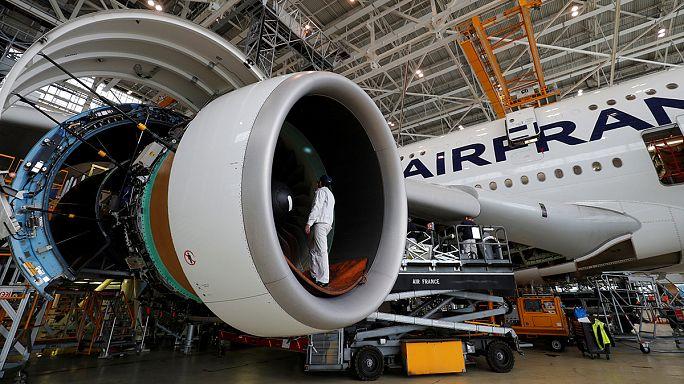 Air France pilotları greve gitti