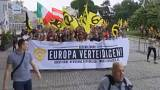 Tension flares amid anti-immigrant march in Vienna
