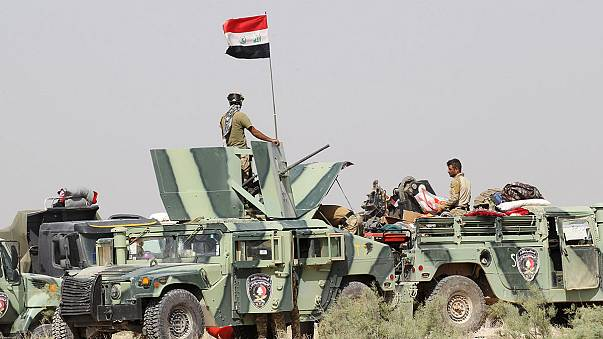 Les forces irakiennes progressent contre l'EI à Fallouja