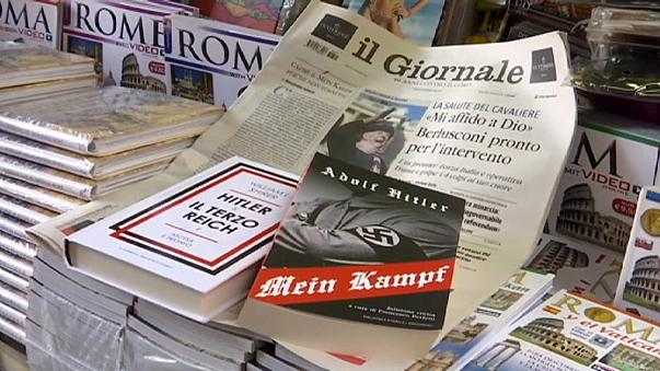 Mein Kampf causes controversy in Italy as copies given away with daily newspaper