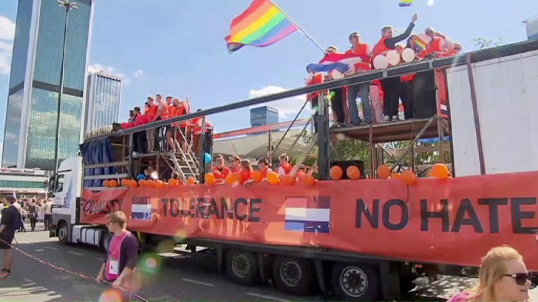 LGBT aktivistleri Roma, Atina, Varşova ve Zagreb'de yürüdüler
