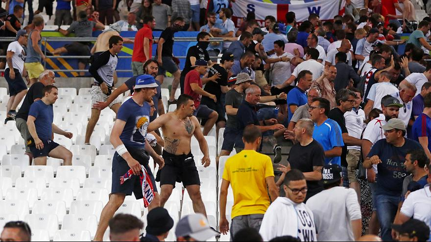 Euro 2016: Briton 'fighting for his life' following third day of violence in Marseille