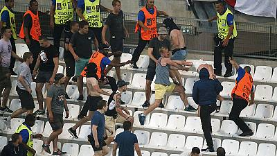 UEFA says England and Russia face disqualification if violence continues
