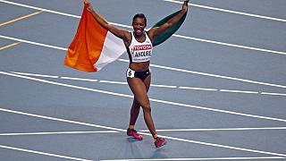 Ivory Coast's Ahoure clocks new African 100m record