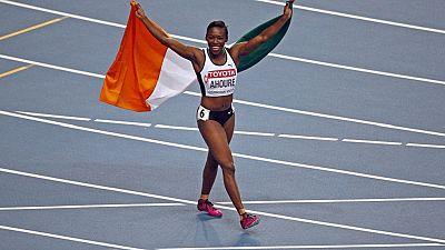Athlétisme : meilleure performance mondiale de l'année et record d'Afrique pour Murielle Ahouré sur 100 mètres