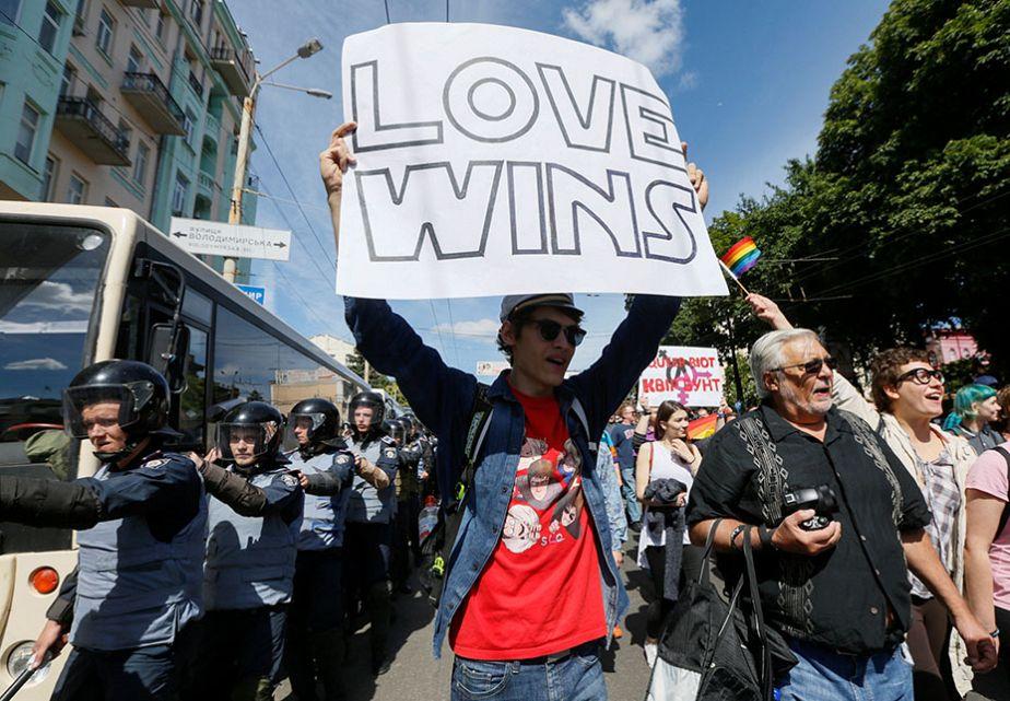 L'amour vainqueur en Ukraine