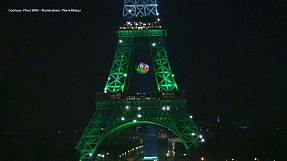 Welsh win lights up Eiffel Tower