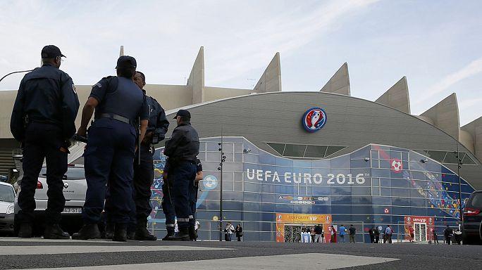 Euro2016:Segurança reforçada para jogo Turquia-Croácia