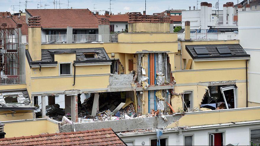 Milão: Fuga de gás provoca explosão e mata três pessoas