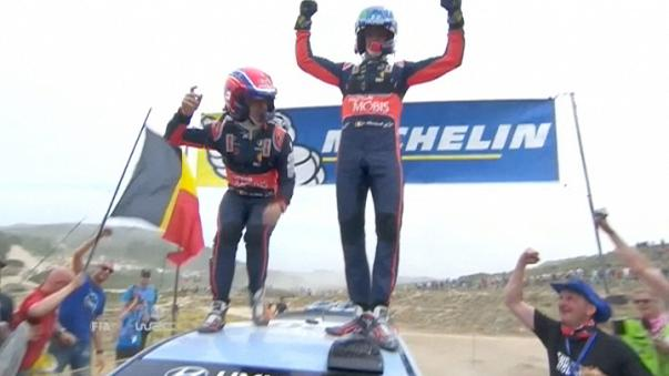 WRC: Έκπληξη από τον Βέλγο Τιερί Νουβίλ στο ράλι Σαρδηνίας
