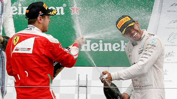 Hamilton wins Canadian GP slashing Rosberg's lead to nine points