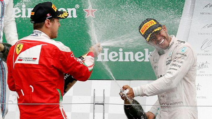 Formula 1'de Hamilton'dan peş peşe ikinci zafer