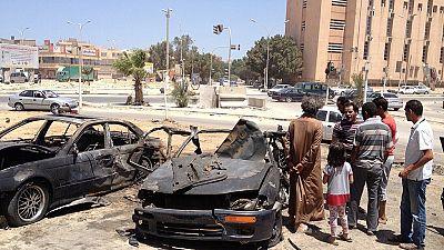 Suicide bomber hits field hospital near Libya's Sirte