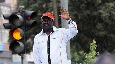 Kenya : Raila Odinga suspend provisoirement les manifestations