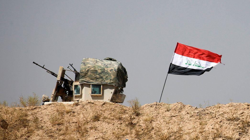 Irak ordusu Felluce ve Musul operasyonlarına hız verdi