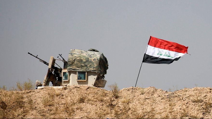 Tropas iraquianas ganham terreno na luta contra o grupo Estado Islâmico