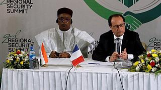 Niger president in France with Boko Haram top of the agenda