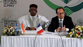 Niger: Mahamadou Issoufou en France 10 jours après les attaques de Bosso