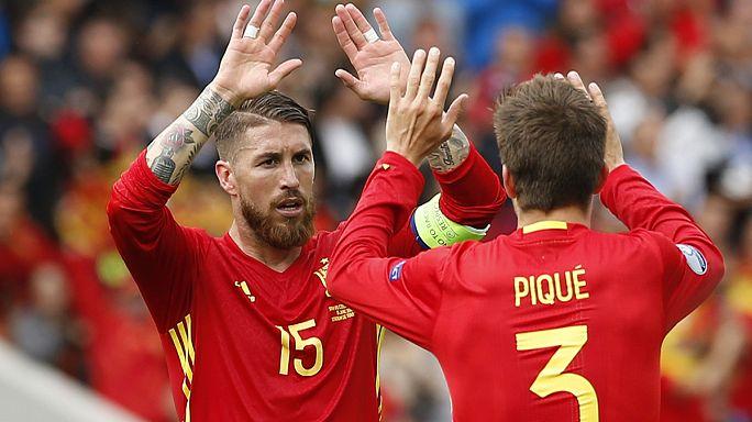 يورو2016: إسبانيا تفوز على جمهورية التشيك بشق الأنفس... و السويد تتعادل مع إيرلندا بهدف لمثله أما إيطاليا تثبت جدارتها بهدفين نظيفين أمام بلجيكا