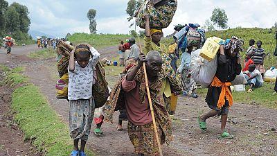 RDC : les populations du Nord-Kivu poussées vers l'exil