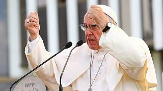 Extreme poverty must be seen as reality not a statistic - Pope