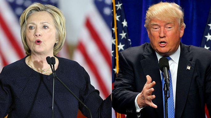 Clinton, Trump clash over Orlando mass shooting