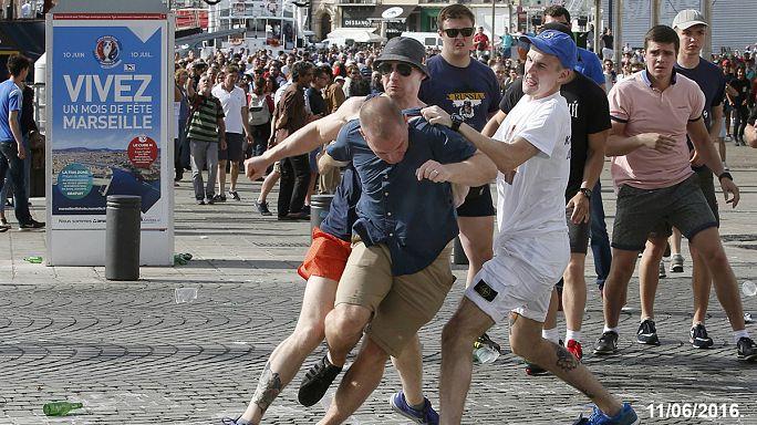 Nach EM-Krawallen in Marseille: Fußballfans zu Haftstrafen verurteilt