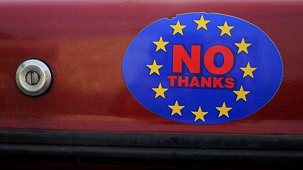 """The Sun apela ao voto no 'Brexit' para travar """"a dominação Alemã"""""""