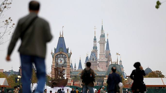 Disney World nyílik Kínában