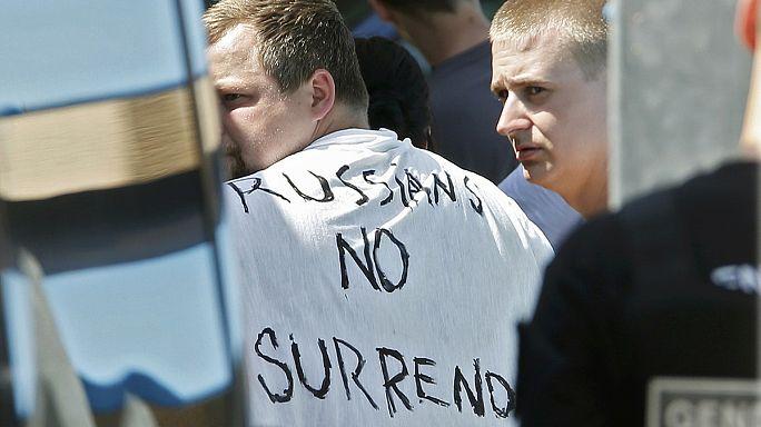La UEFA descalifica a Rusia pero lo deja en suspenso si no hay más violencia