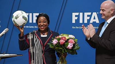 FIFA : Fatma Samoura passe le contrôle d'éligibilité avec succès