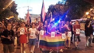 Αθήνα: Πορεία μνήμης για τα θύματα του μακελειού στο Ορλάντο