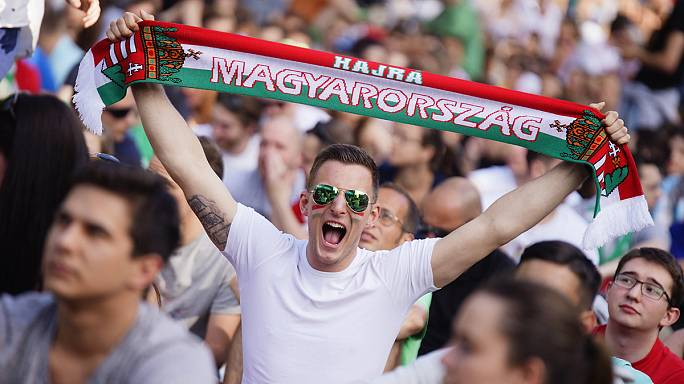Fotók: ilyen volt a hangulat az Ausztria elleni nyertes Eb-meccs közben és után