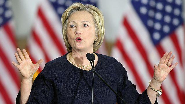 فوز هيلاري كلينتون في الانتخابات التمهيدية للديمقراطيين بواشنطن