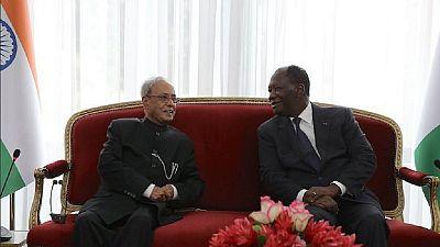 Relations Inde-Afrique: les questions qui ont intéressé le président indien en Côte d'Ivoire et au Ghana