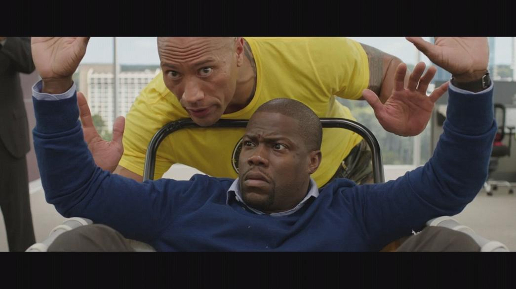 Johnson-Hart duo star in Hollywood comedy 'Central Intelligence'