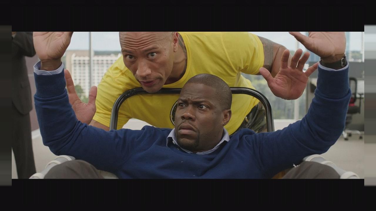 "Kevin Hart und Dwayne Johnson in ""Central Intelligence"""