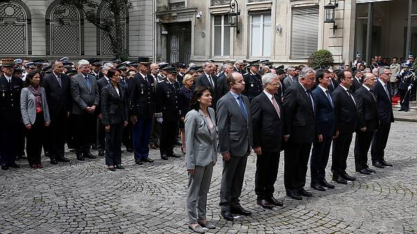 France pays tribute to murdered police couple