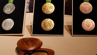 Olympic medals for Rio 2016 unveiled