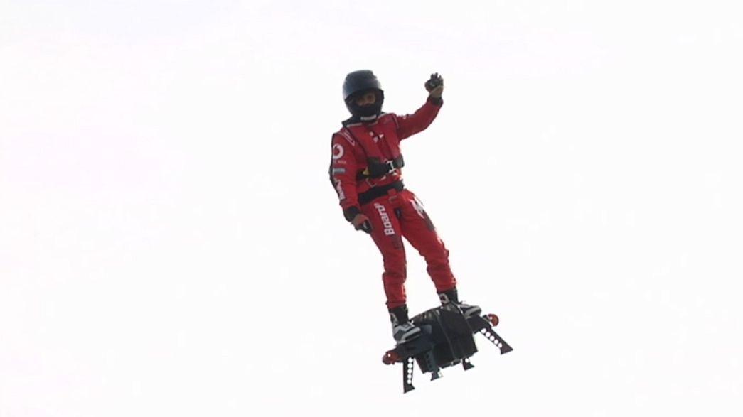 Flyboard Air, un nuevo concepto de tabla voladora