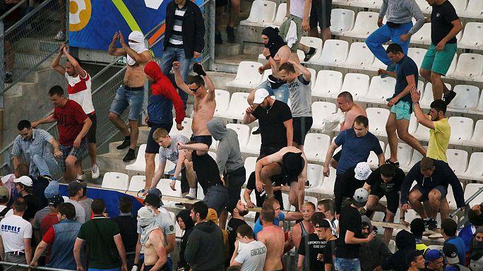 """""""Hooligans"""" no Euro2016: Como é acompanhada na Rússia a violência em França"""