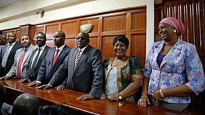 Court detains eight Kenyan lawmakers over hate speech